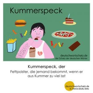 Kummerspeck - Wortschatz Deutsch Bilder