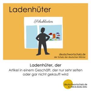 Ladenhüter - Wortschatz Deutsch Bilder