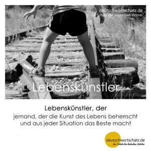 Lebenskünstler - Wortschatz Deutsch Bilder