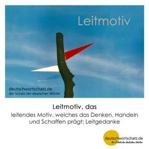 Leitmotiv - Wortschatz Deutsch Bilder
