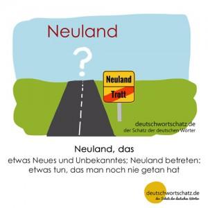 Neuland - Wortschatz Deutsch Bilder