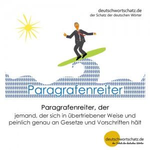 Paragrafenreiter - Wortschatz Deutsch Bilder