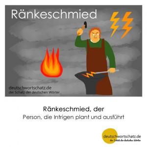 Ränkeschmied - Wortschatz Deutsch Bilder