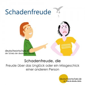 Schadenfreude - Wortschatz Deutsch Bilder