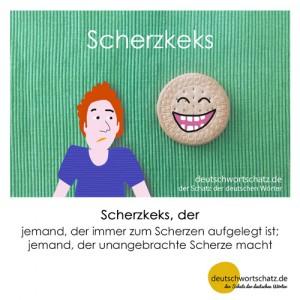 Scherzkeks - Wortschatz Deutsch Bilder