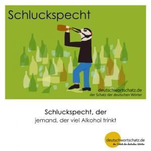 Schluckspecht - Wortschatz Deutsch Bilder
