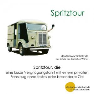Spritztour - Wortschatz Deutsch Bilder