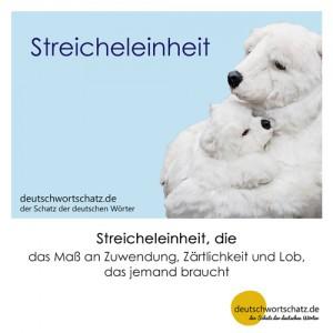 Streicheleinheit - Wortschatz Deutsch Bilder