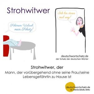 Strohwitwer - Wortschatz Deutsch Bilder