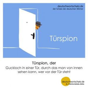 Türspion - Wortschatz Deutsch Bilder