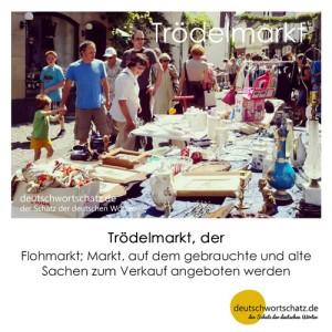 Trödelmarkt - Wortschatz Deutsch Bilder