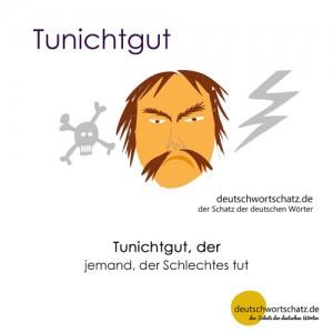 Tunichtgut - Wortschatz Deutsch Bilder