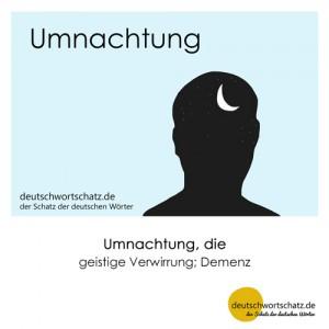 Umnachtung - Wortschatz Deutsch Bilder