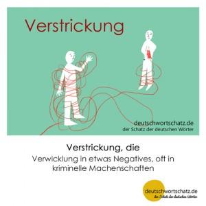 Verstrickung - Wortschatz Deutsch Bilder