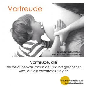 Vorfreude - Wortschatz Deutsch Bilder
