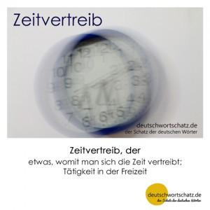 Zeitvertreib - Wortschatz Deutsch Bilder