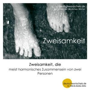 Zweisamkeit - Wortschatz Deutsch Bilder