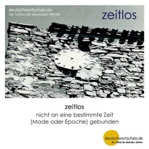 zeitlos - Wortschatz Deutsch Bilder