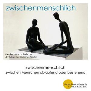 zwischenmenschlich - Wortschatz Deutsch Bilder