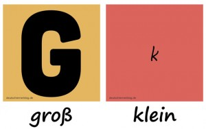 groß - klein - Adjektive - Gegensatzpaare