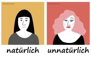 natürlich - unnatürlich - Adjektive - Gegensatzpaare