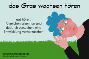 Gras-wachsen-hören-Redewendungen-deutschlernerblog