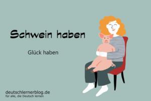 Schwein-haben-Redewendungen-deutschlernerblog