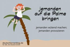 auf-die-Palme-bringen-Redewendungen-deutschlernerblog