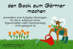 den-Bock-zum-Gärtner-machen-Redewendungen-deutschlernerblog