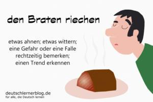 den-Braten-riechen-Redewendungen-deutschlernerblog
