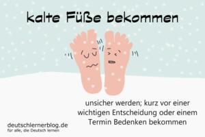 kalte-Füße-bekommen-Redewendungen-deutschlernerblog