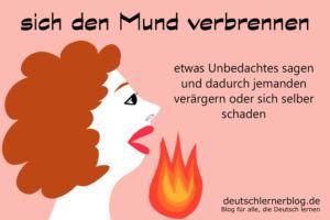 sich-den-Mund-verbrennen-Redewendungen-Redensarten-deutschlernerblog