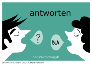 antworten-deutsche-Verben-mit-Bildern-Deutsch-lernen-mit-Deutschlernerblog