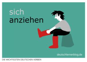 anziehen-deutsche-Verben-mit-Bildern-Deutsch-lernen-mit-Deutschlernerblog