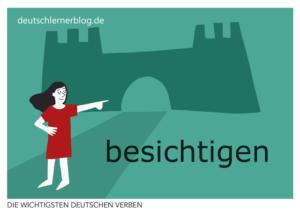 besichtigen-deutsche-Verben-mit-Bildern-Deutsch-lernen-mit-Deutschlernerblog