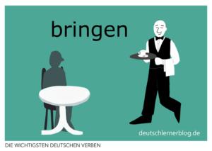 bringen-deutsche-Verben-mit-Bildern-Deutsch-lernen-mit-Deutschlernerblog