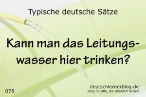 deutsche Sätze 078 Leitungswasser trinken deutschlernerblog 640
